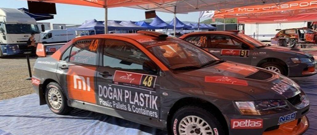 Nationalreifen auf der Rallye-Weltmeisterschaft