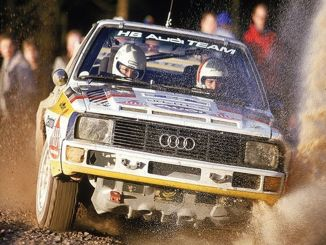 Legend for Women Racing Pilot Michele Mouton Rally of Turkey i Marmaris