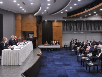 מרכזי התיירות האגאית Çeşme פרויקט הפגישה נערך