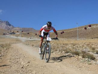 Excitation internationale en VTT à Erciyes
