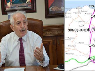 Erzincan Trabzon Dəmiryolu üçün alternativ marşrut qəbul edilə bilməz