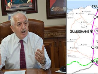 Alternative Route Cannot Be Accepted For Erzincan Trabzon Railway