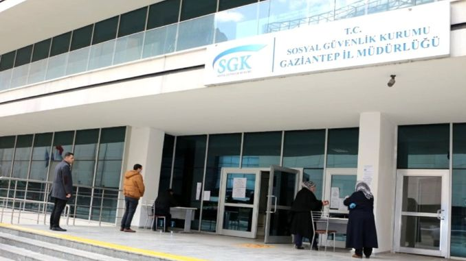 Kontaktinformationen der Provinzdirektion Gaziantep SGK