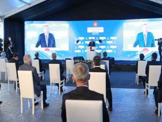 Göztepe City Hospital werd geopend met een ceremonie