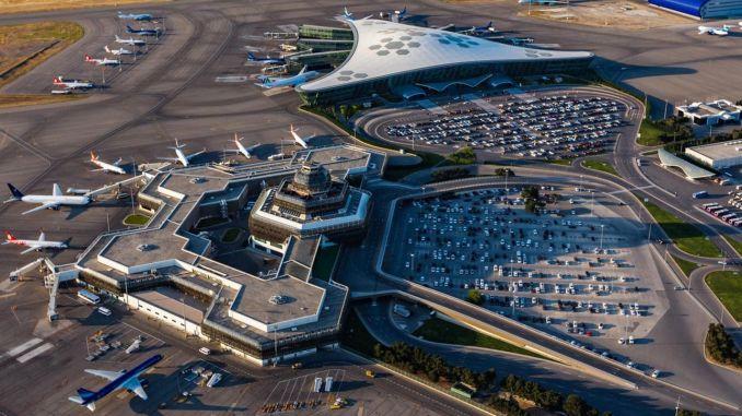 Haydar Aliyev Uluslararası Havalimanı Geçici Olarak Kapatıldı