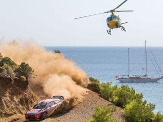 Hyundai i20 WRC Rally of Turkey day for counting the