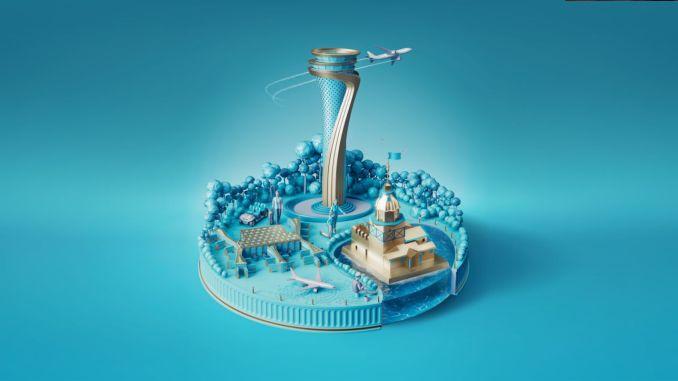 Innovatiivisia visuaalisia malleja Istanbulin lentokentältä