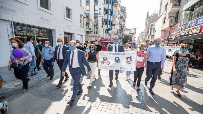 يتم الاحتفال بيوم مدينة بلا سيارات في إزمير