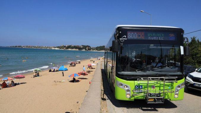 Последни автобусни пътувания до плажовете на Кандира в неделя