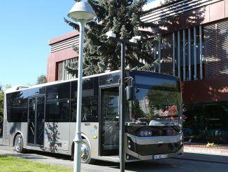 مدينة قيصري تضيف 20 حافلة أخرى إلى أسطولها