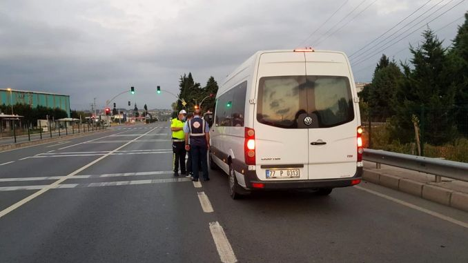 No Passage to Pirate Transportation in Kocaeli!