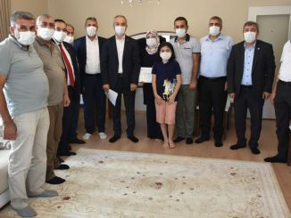 Helping the Family of the Machinist Who Lost His Life in the Train Accident in Malatya