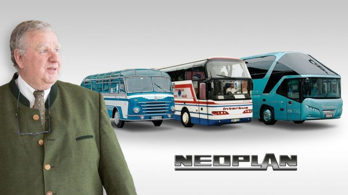 MAN and NEOPLAN Family Celebrates Konrad Auwärter's 80th Anniversary