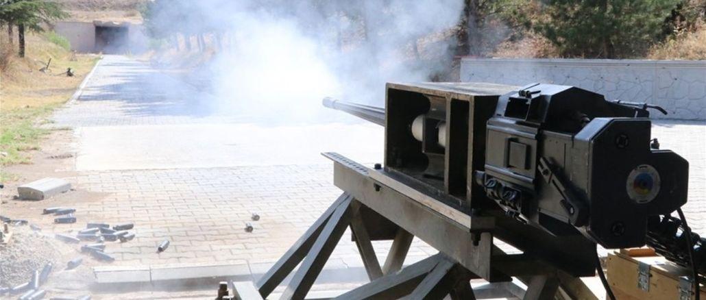 MKEK'nin Ürettiği Uçaksavar Topu Atışlı Testleri Başarıyla Tamamladı