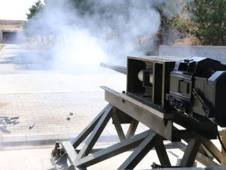 The Anti-Aircraft Gun Firing Tests Produced by MKEK Successfully Completed