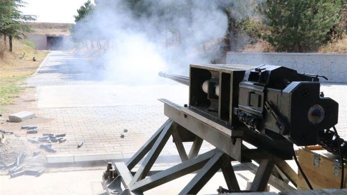 Anti-Aircraft Gun Firing Tests Produceret af MKEK Fuldført