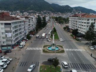 Dinaminis kryžkelių įgyvendinimas Ordu mieste