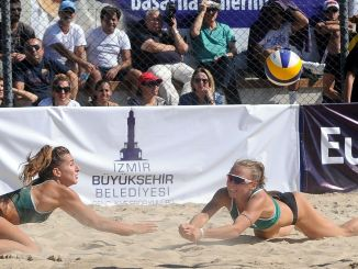 European Beach Volleyball Championship Starts in Izmir