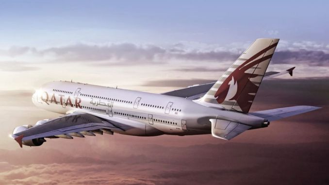 Sorpresa de Super Wi-Fi gratis de Qatar Airways