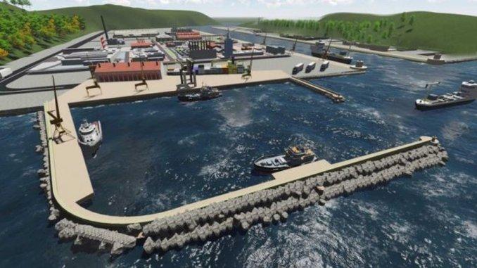 Cengiz İnşaat Wins Rize İyidere Logistics Port Tender