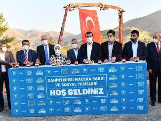 Khởi công Công viên Mạo hiểm Şahintepesi và Cơ sở Xã hội