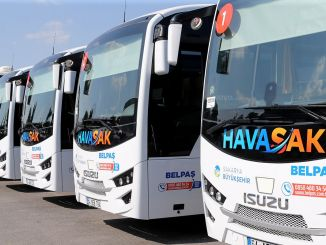 Bus Fly fra Sakarya til Sabiha Gökçen Start den 18. september