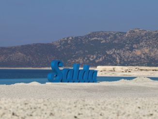 Entry to Salda Lake and Beach is prohibited