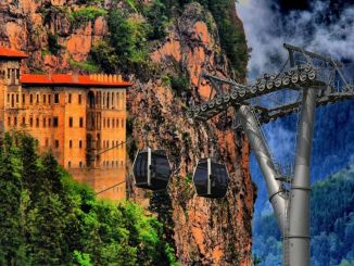 Sümela Monastery Cable Car Project Has Reached Its Final Stage