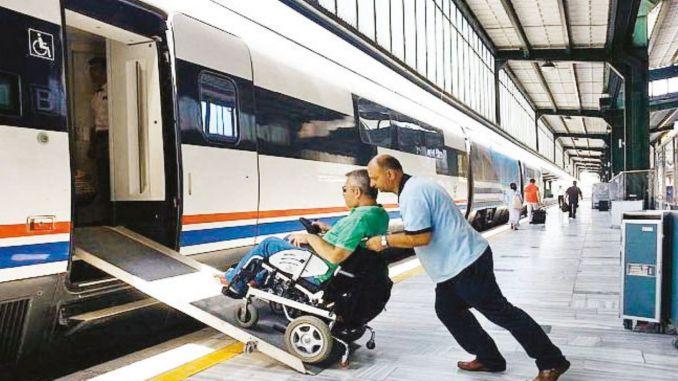Giới hạn hạn ngạch của TCDD đối với người khuyết tật sử dụng tuyến YHT Miễn phí