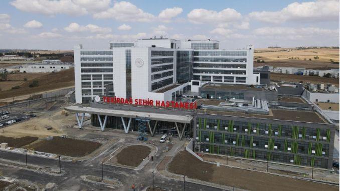Tekirdağ Şehir Hastanesi Hizmete Girmek İçin Gün Sayıyor