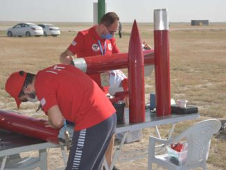 テクノフェスト2020ロケットレースがソルトレイクでスタート