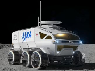 Toyota's Spacecraft Named 'LUNAR CRUISER'
