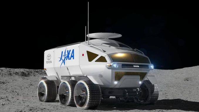 """Космическият кораб на Toyota наречен """"LUNAR CRUISER"""""""