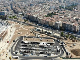موقف سيارات يتسع لـ 824 سيارة لمركز تحويل Üçkuyular