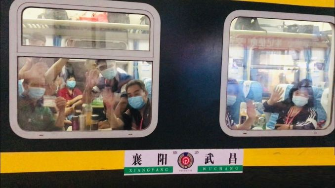 First Tourist Train Departs From Wuhan Since The Beginning Of The Outbreak