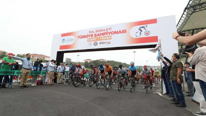 Road Cycling Championships Ended Turkey