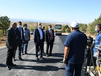 Mayor Altay Examined Aladağ Ski Center Road Works