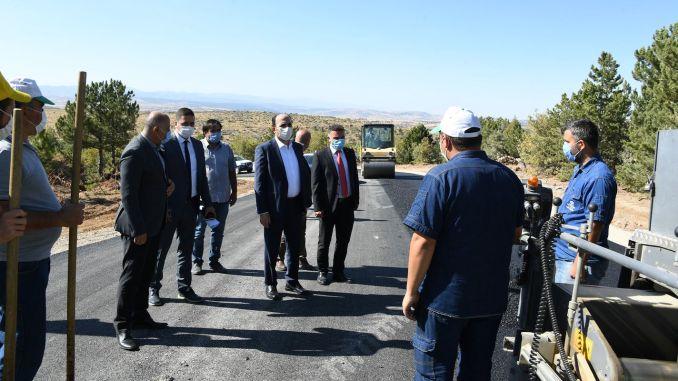 Bələdiyyə Başçısı Altay Aladağ Kayak Mərkəzi Yol İşlərini araşdırdı
