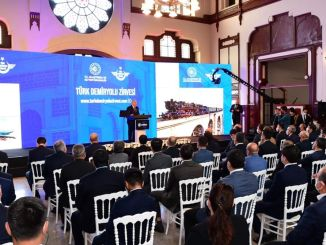 President Turan Attended the Turkish Railway Summit