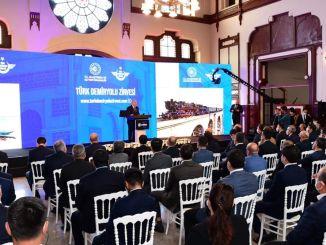 Präsident Turan nahm am türkischen Eisenbahngipfel teil