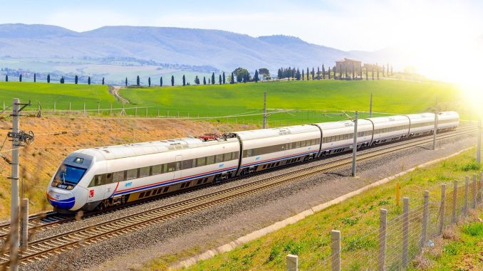High Speed Train Moved Towards Sivas!