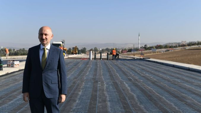 Kızılcahaman Tunnel Works Ended