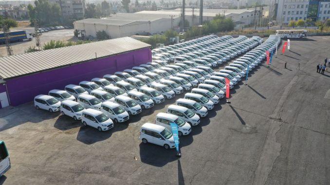 Şanlıurfa'da Toplu Taşıma Araçları Yenileniyor