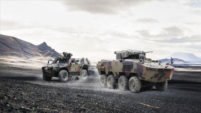 Première commande Otokar ARMA 8x8 d'Afrique