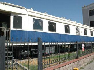 Ein Museumsversprechen des Ministers für den weißen Wagen, der von der Alsancak Station entfernt wurde