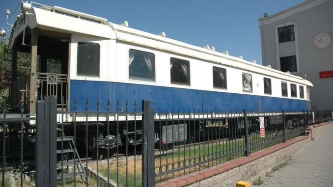 Museum Promise from the Minister for the White Wagon Removed from Alsancak Station