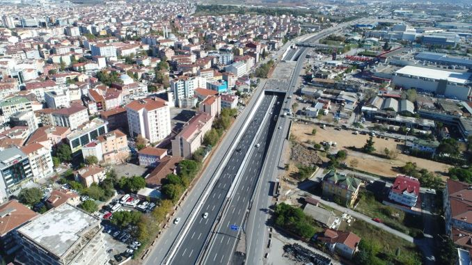 They Will Use This Road Attention! Temporary Route Application in Gebze