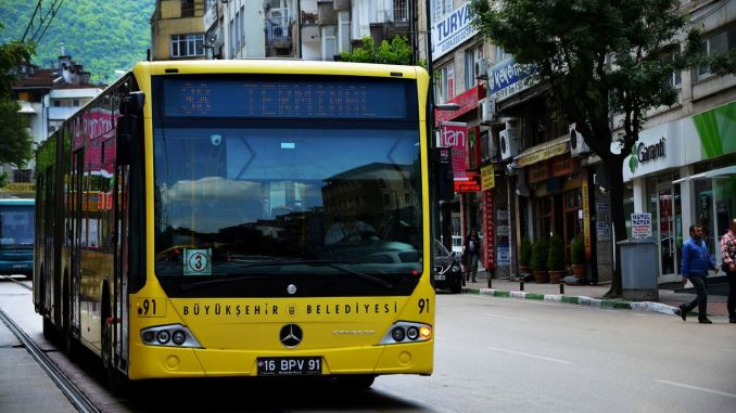 Gratis vervoer voor zorgverleners in Bursa nog steeds niet meer!