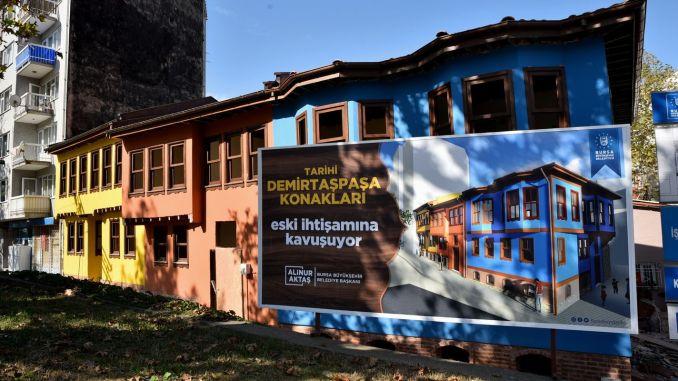 Mot slutet vid Demirtaşpaşa Mansions