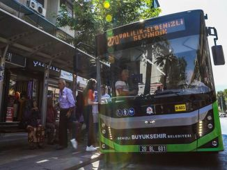 Denizli Metropolitan Made Free Buses During Republic Day